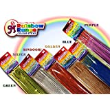 MaayasDeep Rang Barse Assorted Colour Incense Sticks Pouch Pack-6 Different Fragrance With Multi Colored-Total...
