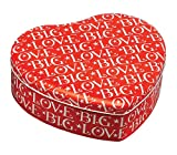 Emma Bridgewater Big Love Heart Shaped Tin, Red