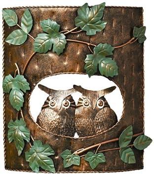 Ancient Graffiti Owls in Tree House Yard Art by Ancient Graffiti