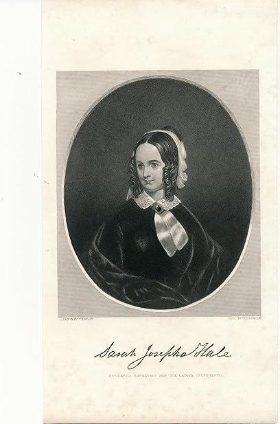 Portrait of Sarah Josepha (Buell) Hale, 1788-1879