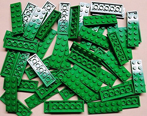 x50 NEW LEEGO Green Plates 2x6 Brick Building Green Baseplates (Leego Inc compare prices)