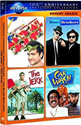 Comedy Greats Spotlight Collection (National Lampoon's Animal House / The Blues Brothers / The Jerk / Car Wash) (Universal's 100th Anniversary Edition)