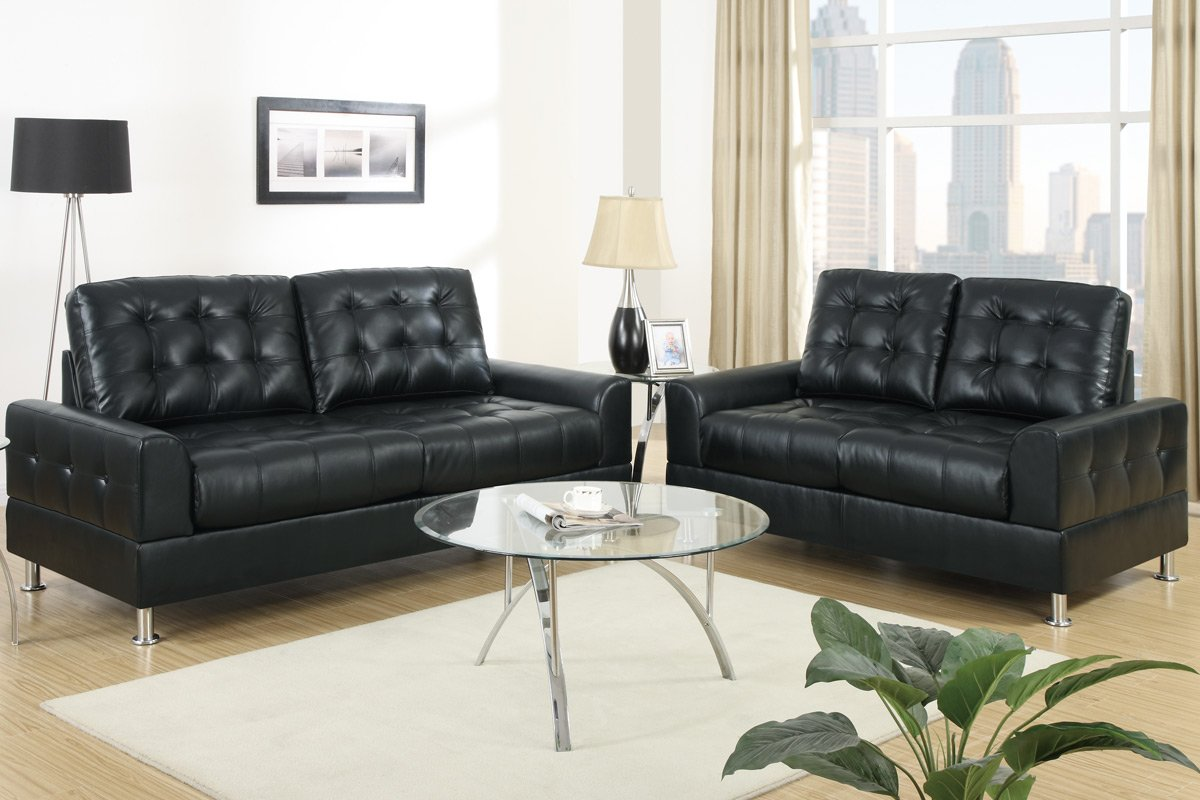 2-pcs Sofa Set by Poundex