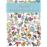 Find It! Hidden Picture Book: Animals