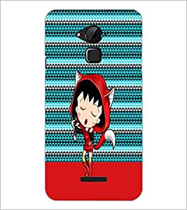 PrintDhaba Cartoon D-4748 Back Case Cover for COOLPAD NOTE 3 LITE (Multi-Coloured)