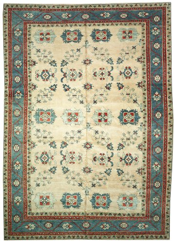 9'11 x 13'9 Handmade Knotted Persian Mahal New Area Rug From Turkey - 52102