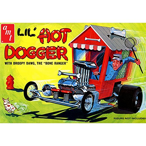 AMT908 1/25 LIL 'hot Dogga show rod (Phil And Lil compare prices)