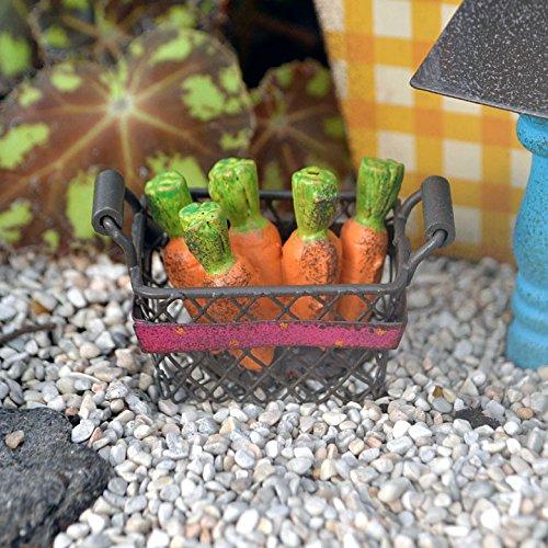 Studio M - Gypsy Fairy Garden -Mini Carrot Basket GG230