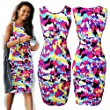 Zeagoo Womens Bandage Midi Bodycon Stretch Evening Cocktail Party Dresses
