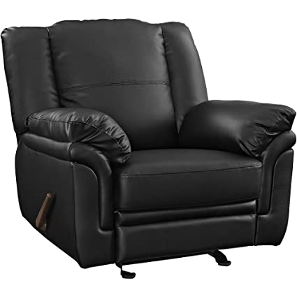 Black Impose Armchair Recliner FMP252799