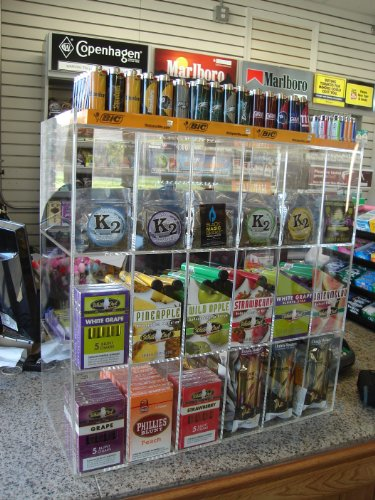 Cigar, Blunt Wraps Or Candy Display Case (4090) front-789914