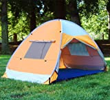 Self-expanded Pop up Family Cabana Tent Wind Shelter UV Proof Beach Tent, Outdoor Stuffs