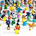 Generic 1 Complete Set Pokemon Action Figures 144 Piece by Amazing Innovation
