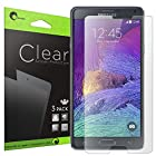Galaxy Note 4 Screen Protector, i-Blason 3 Pack Premium HD Clear Version for Samsung Galaxy Note 4