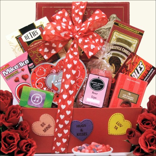 GreatArrivals Gift Baskets Ivalentine Fun Valentine's