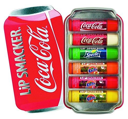 リップスマッカー コカコーラ リップグロス 6個入り Lip Smacker Coca Cola Lip Gloss Pack of 6
