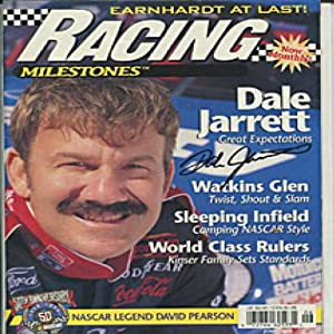 Dale Jarrett Autographed Signed Racing Magazine by Hollywood Collectibles