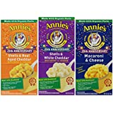 Annie's Homegrowns Variety Macaroni and Cheese, 12-count,  4.5 Pound