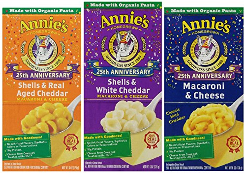 Annie's Homegrowns Variety Macaroni and Cheese, 12-count,  4.5 Pound (Mac And Cheese Annies compare prices)