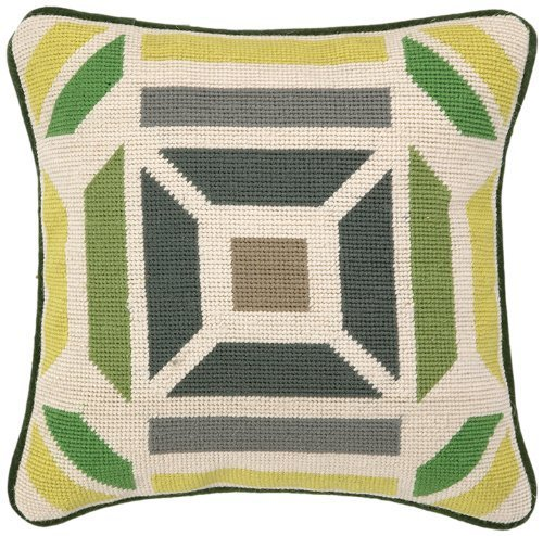 trina-turk-residential-novato-needlepoint-pillow-12-by-12-inch-green-citron-by-trina-turk