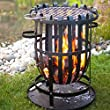 chrome fire basket