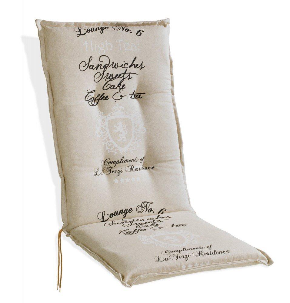 Sesselauflage Polsterauflage natur für Hochlehner Dabur 1 günstig kaufen