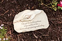 Evergreen Enterprises Paw in Hand Devotion Garden Stone