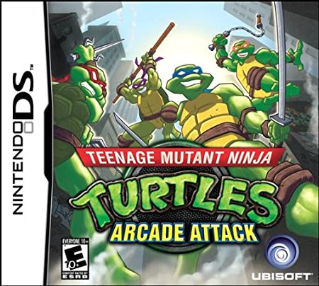 Teenage Mutant Ninja Turtles: Arcade Attack (Nintendo DS)