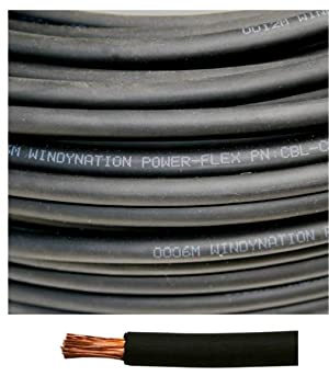 1//0 Gauge 1//0 AWG 12.5 Feet Red 3 Feet Black Heat Shrink Tubing 12.5 Feet Black Welding Battery Pure Copper Flexible Cable 10pcs of 3//8 Tinned Copper Cable Lug Terminal Connectors