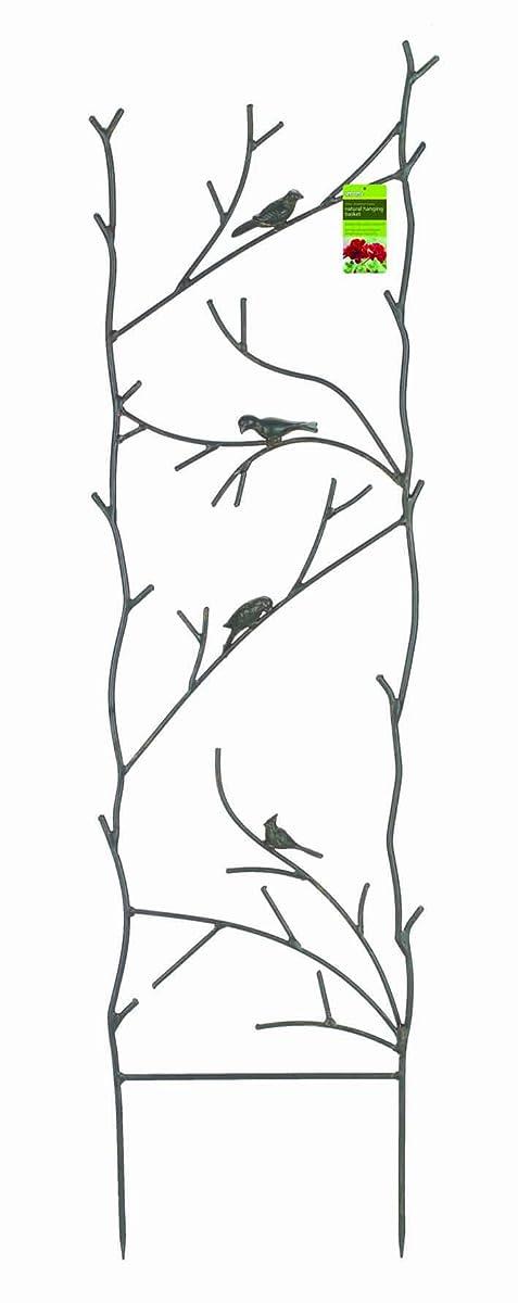 "Gardman R542 Bird and Branch Metal Trellis, 14.68"" Wide x 51"" High"