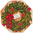 Art of Appreciation Gift Baskets Holiday Wreath of Sweets and Christmas Treats Gift Box