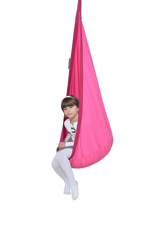 Hängehöhle LOLI KIDS Kinder Hängesessel Hängesitz bubblegum-GRÖßE PLUS! kaufen