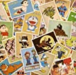 SuPoo 30pcs Famous Cartoon Animation Post Card Retro Nostalgia Postcards Post Cards for Travel&Collection