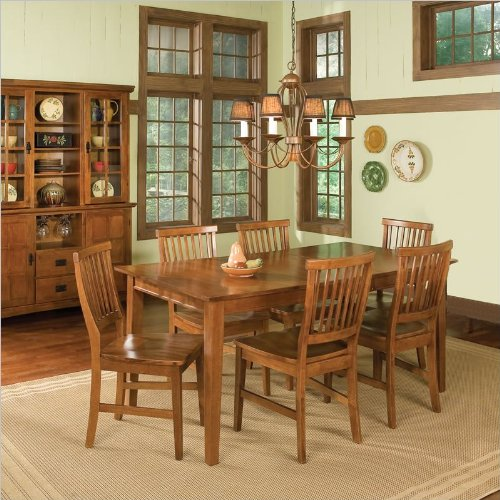 Oak Table And 6 Chairs 5196