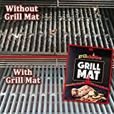 Grillaholics Grill Mat, Featured on Rachael Ray Top Grilling Accessories, Set of 2 Nonstick BBQ Mats
