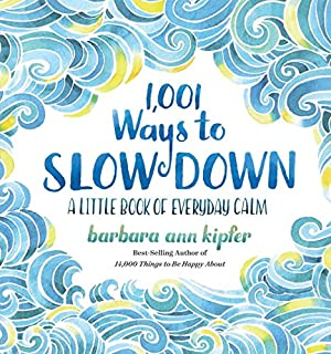 Book Cover: 1,001 Ways to Slow Down: A Little Book of Everyday Calm