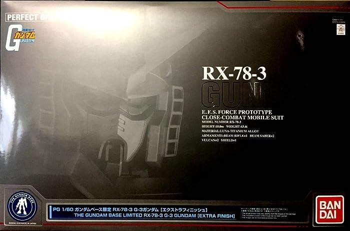 PG RX-78-3 高达(1:60 Extra Finish版)