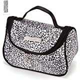 Sac Trousse Maquillage Etui Cosmetique Voyage Zipper Leopard rangement toilette