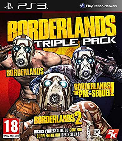 Borderlands Triple Pack [Importación Francesa]