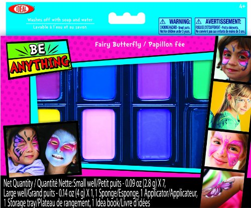 Ideal Face Painting Kit Fairy Butterfly - 1