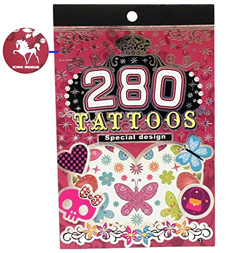 "Tapp Collectionsâ""¢ 280 Temporary Tattoos - F2 Style - 1"