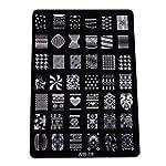 XLORDX New Nail art Plates No�l Hallo...