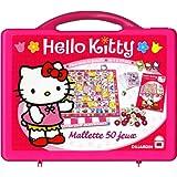Dujardin - 411 - Jeu de société - Malette Premium 50 Jeux Hello Kitty