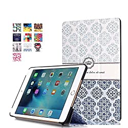 ProElite Designer Smart Flip Case cover for Apple iPad Mini 4 (Design-Flowers Mix) [ Will FIT only mini 4]