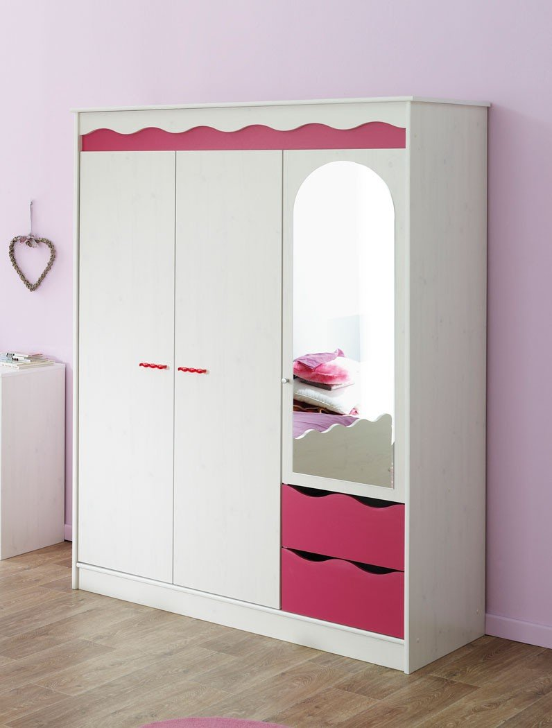 kleiderschr nke f rs kinderzimmer g nstig kaufen. Black Bedroom Furniture Sets. Home Design Ideas