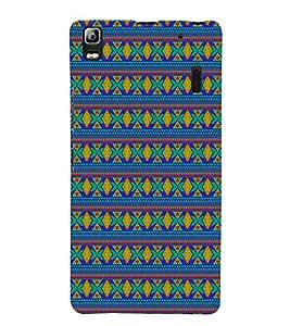 Indian Jaipuri Pattern 3D Hard Polycarbonate Designer Back Case Cover for Lenovo K3 Note