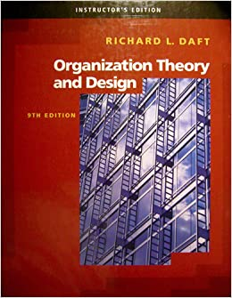 organizational theory design and change 7th edition pdf free download