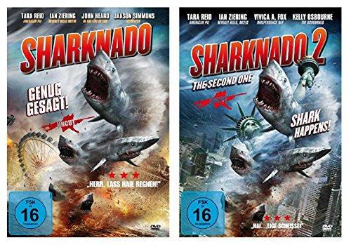 Sharknado 1+2 ( Das Hailight des Jahres ) [2 DVDs]