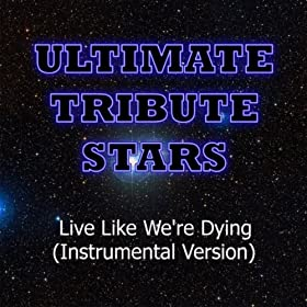 Kris Allen - Live Like We're Dying (Instrumental Version)