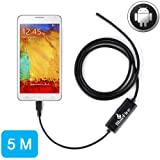 BlueFire 7mm 5M Android OTG Endoscope Tube for Phones with OTG and UVC Function (Color: 5M Android Endoscope)